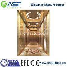 Luxe hot selling commerciele passagier lift lift